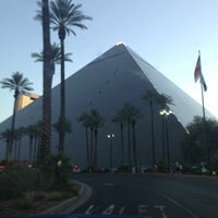 Photo taken at Luxor Hotel & Casino by CC on 7/8/2013