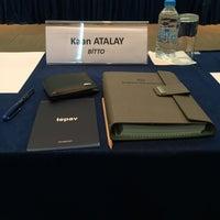 Photo taken at tepav   Türkiye Ekonomi Politikaları Araştırma Vakfı by Kaan A. on 10/9/2017