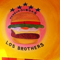 Photo taken at Hamburgesas Los Brother's by Victor R. on 6/4/2013