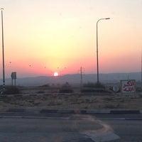 Photo taken at Highway Arad - Be'er Sheva by Ilya L. on 8/4/2013