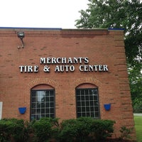 Photo taken at Merchant's Tire & Auto Centers by Wes M. on 6/23/2013