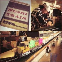 Photo taken at Sushi Train by Steven N. on 9/4/2013