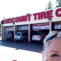 Photo taken at Discount Tire® Store by rosedobbs on 4/14/2014