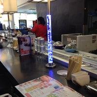 Photo taken at YO! Sushi by Melissa Nasse C. on 6/29/2014