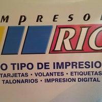 Photo taken at Impresora Rio by Nigel F. on 6/24/2013