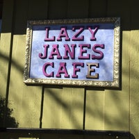 Photo taken at Lazy Jane's Cafe and Bakery by Arelia D. on 10/26/2014