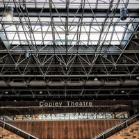 Photo taken at Copley Theatre by VisuaLStimuluS A. on 4/22/2016