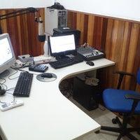 Photo taken at Estúdio Rádio Livre FM by Paulo G. on 9/19/2013