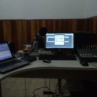 Photo taken at Estúdio Rádio Livre FM by Paulo G. on 6/18/2013