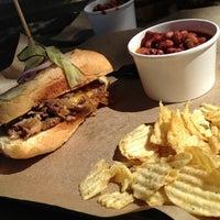Photo taken at Noble Sandwich Co. by Ricardo S. on 10/2/2012