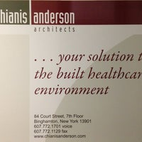 Photo taken at Chianis Anderson Architects by Caitlin C. on 12/19/2012