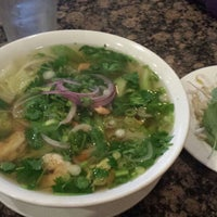 Photo taken at Bamboo Pho & Springroll by Angela R. on 6/29/2014