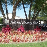 Photo taken at Hillcrest Country Club by Bob M. on 9/14/2012