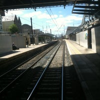 Photo taken at Haymarket Railway Station (HYM) by Paul C. on 6/19/2013
