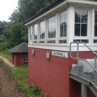 Photo taken at Barnhill signal box by Paul C. on 7/22/2013