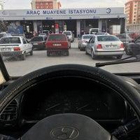 Photo taken at TÜVTÜRK Araç Muayene İstasyonu by Tal'ha E. on 4/20/2017