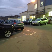 Photo taken at Автотехцентр Nissan by Goldentresses on 11/14/2013