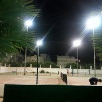 Photo taken at Tennis Club Boumhel by Fatma W. on 9/26/2014
