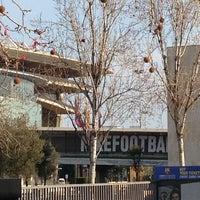 Photo taken at Museu Futbol Club Barcelona by Em uh H. on 2/24/2013