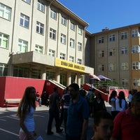 Photo taken at Semiha Şakir Anadolu Lisesi by Mert D. on 6/23/2013
