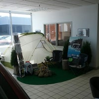 Photo taken at Morrie's Brooklyn Park Nissan by Chaz C. on 4/27/2013