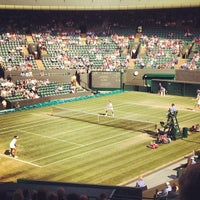 Photo taken at The All England Lawn Tennis Club by Jane W. on 7/4/2013