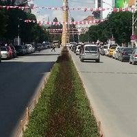 Photo taken at İnönü Caddesi by BÜLENT Ç. on 6/15/2013