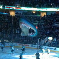 Photo taken at SAP Center at San Jose by Terrie C. on 2/3/2013