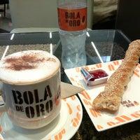 Photo taken at Café Bola de Oro by Jorge A. P. on 12/30/2014