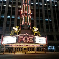 Photo taken at Fox Theatre by Retta E. on 4/1/2013