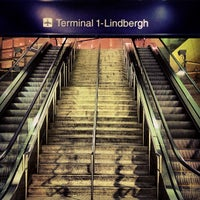 Photo taken at Terminal 1 - Lindbergh LRT Station by LEVEL 13 on 3/28/2013