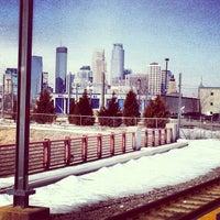 Photo taken at Franklin Avenue LRT Station by LEVEL 13 on 3/28/2013