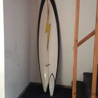 Photo taken at Lightning Bolt Surf Shop by Billy U. on 11/4/2013