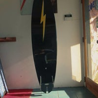 Photo taken at Lightning Bolt Surf Shop by Billy U. on 12/5/2013