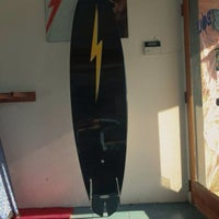 Photo taken at Lightning Bolt Surf Shop by Billy U. on 10/18/2013