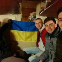 Photo taken at Фирменный Киев-Одесса by Sasha S. on 12/8/2014