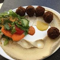 Photo taken at Dada Falafel by Hande on 7/18/2013