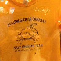 Photo taken at Annapolis Cigar Company by Matthew C. on 6/7/2014