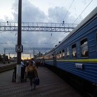 Photo taken at Залізнична станція «Жмеринка» by Andriy M. on 6/11/2013