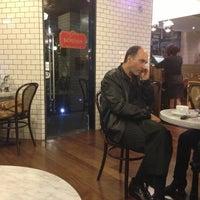 Photo taken at Devotion Cafe Hilton Bogota by Daniel W. on 3/21/2013