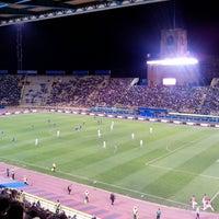 Photo taken at Stadio Renato Dall'Ara by Giulia G. on 6/1/2013