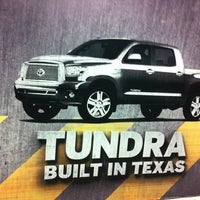 Photo taken at Toyota Tundra Parking Garage by Brittany W. on 11/8/2012