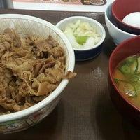 Photo taken at Sukiya by まさやん on 4/7/2016