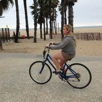 Photo taken at Sea Mist Skate & Bike Rentals by Ben B. on 3/18/2013