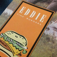 Photo taken at Eddie Fine Burgers by Diego I. on 7/24/2013