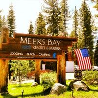 Photo taken at Meeks Bay Resort by Gig B. on 7/26/2013