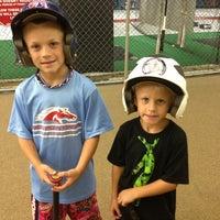 Photo taken at Greensboro Batting Center by Jason P. on 7/13/2013