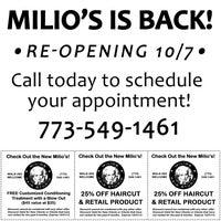 Photo taken at Milios Hair Studio by Dalia A. on 9/25/2013