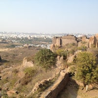 Photo taken at Golconda Fort by Brian C. on 1/20/2013