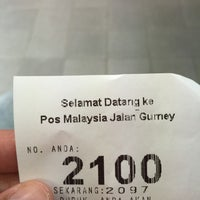 Photo taken at Pos Malaysia by Nur A. on 9/23/2015